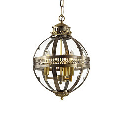 Подвесная люстра KM0115P-3S antique brass Delight Collection Residential