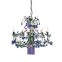 Люстра 6806/5+1-X viola V2430 MM Lampadari Luxury