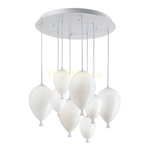 Clown SP8 Bianco Ideal Lux